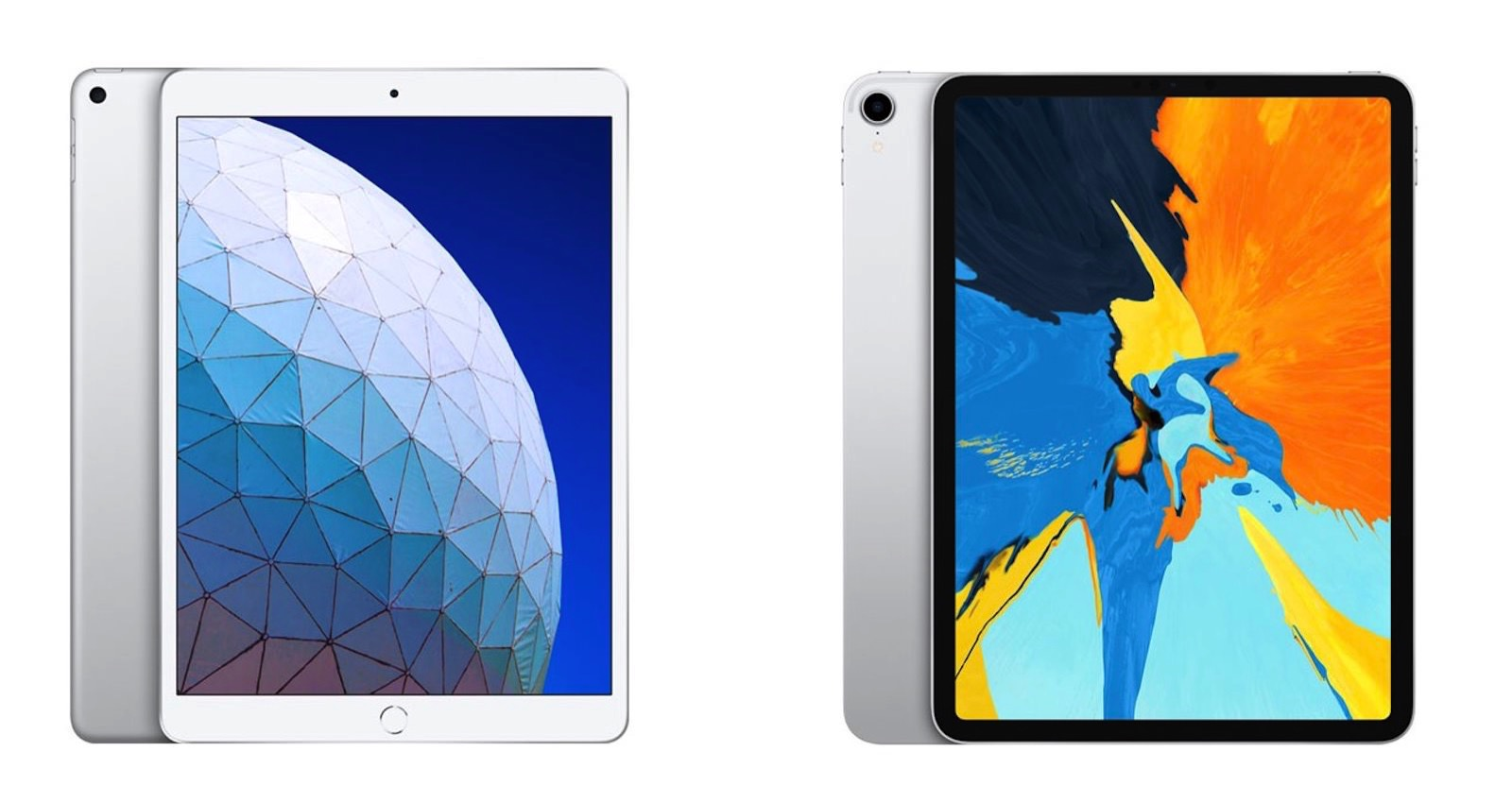 Ipad air and ipad pro comparison
