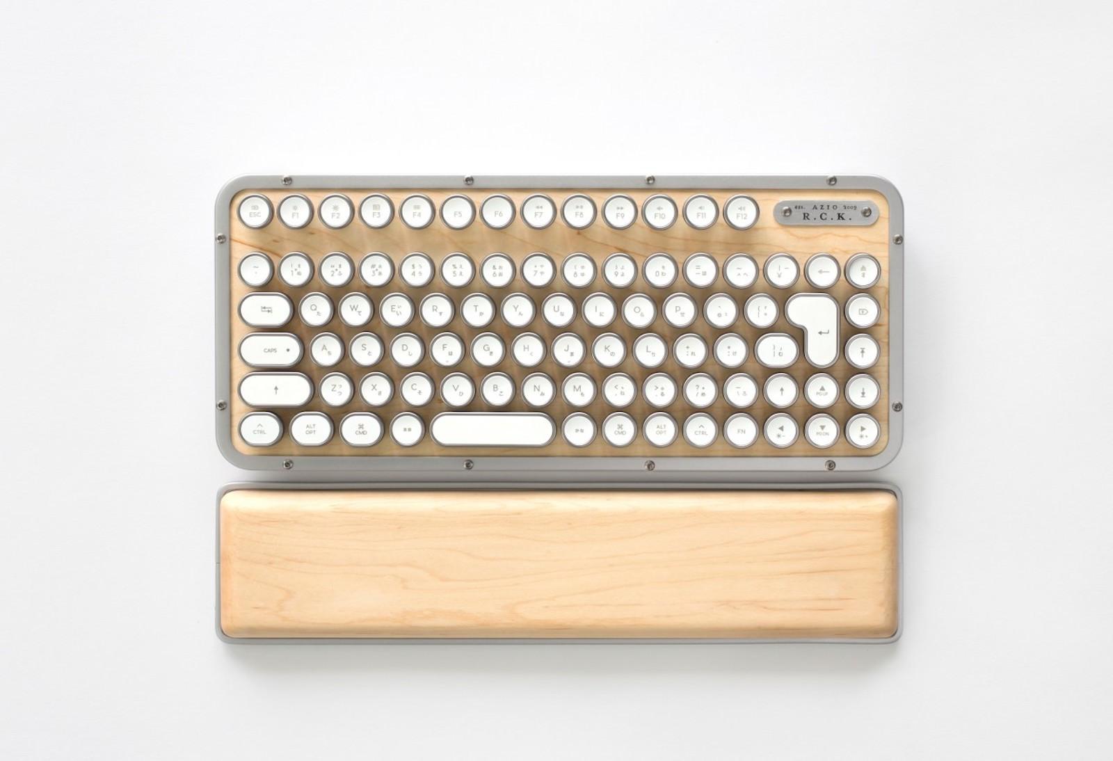 AZIO Retro Classic Keyboard 1