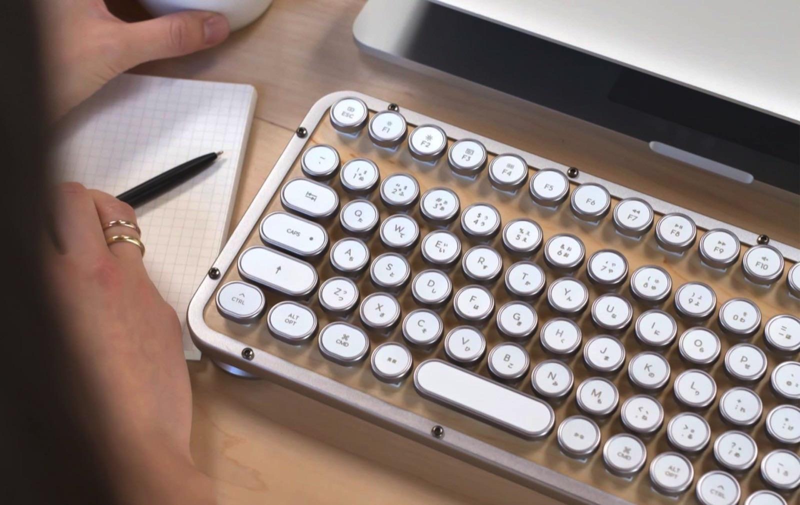 AZIO Retro Classic Keyboard 2
