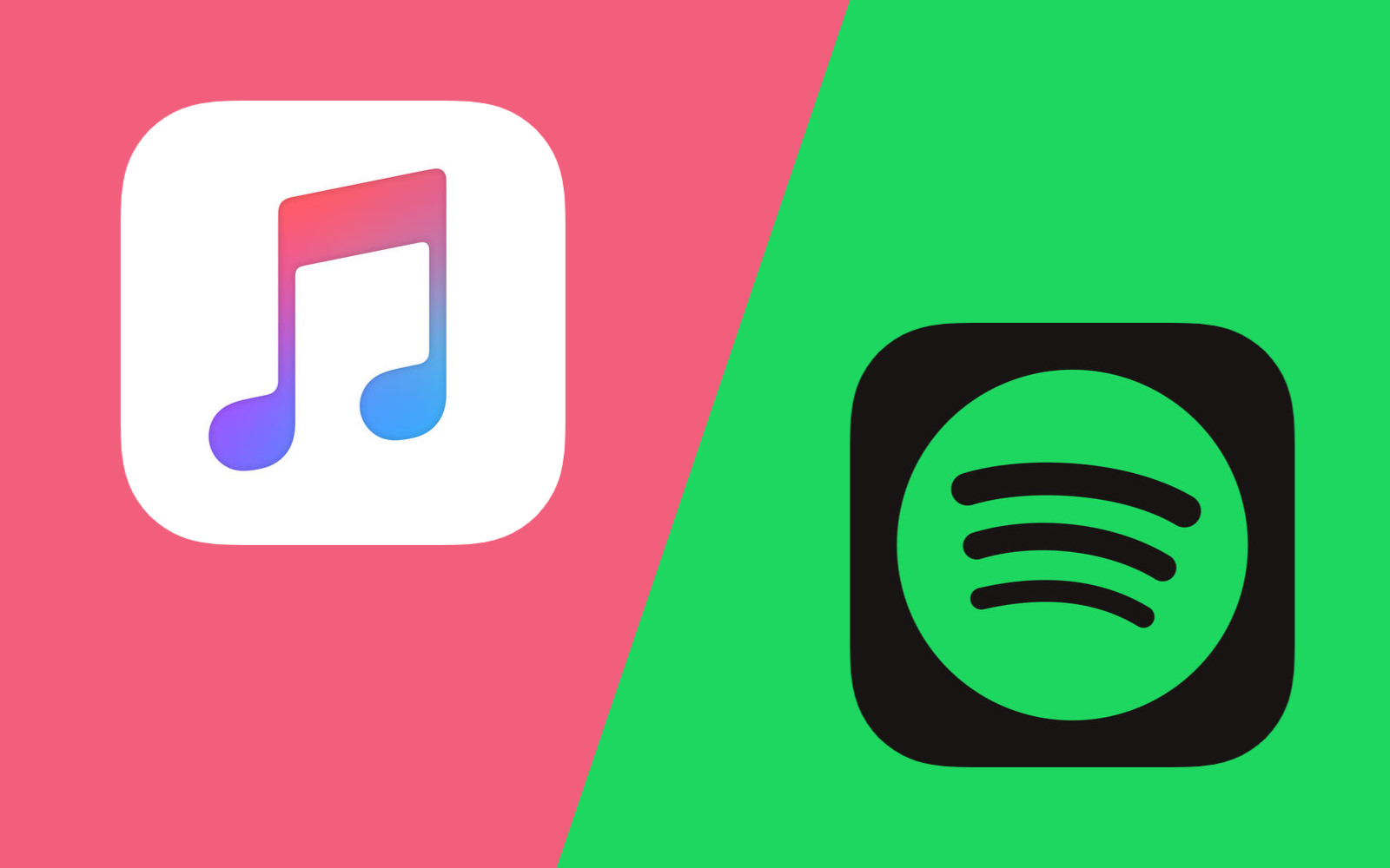 Apple Music VS Spotify 2