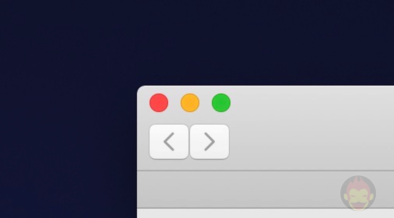 Finder buttons