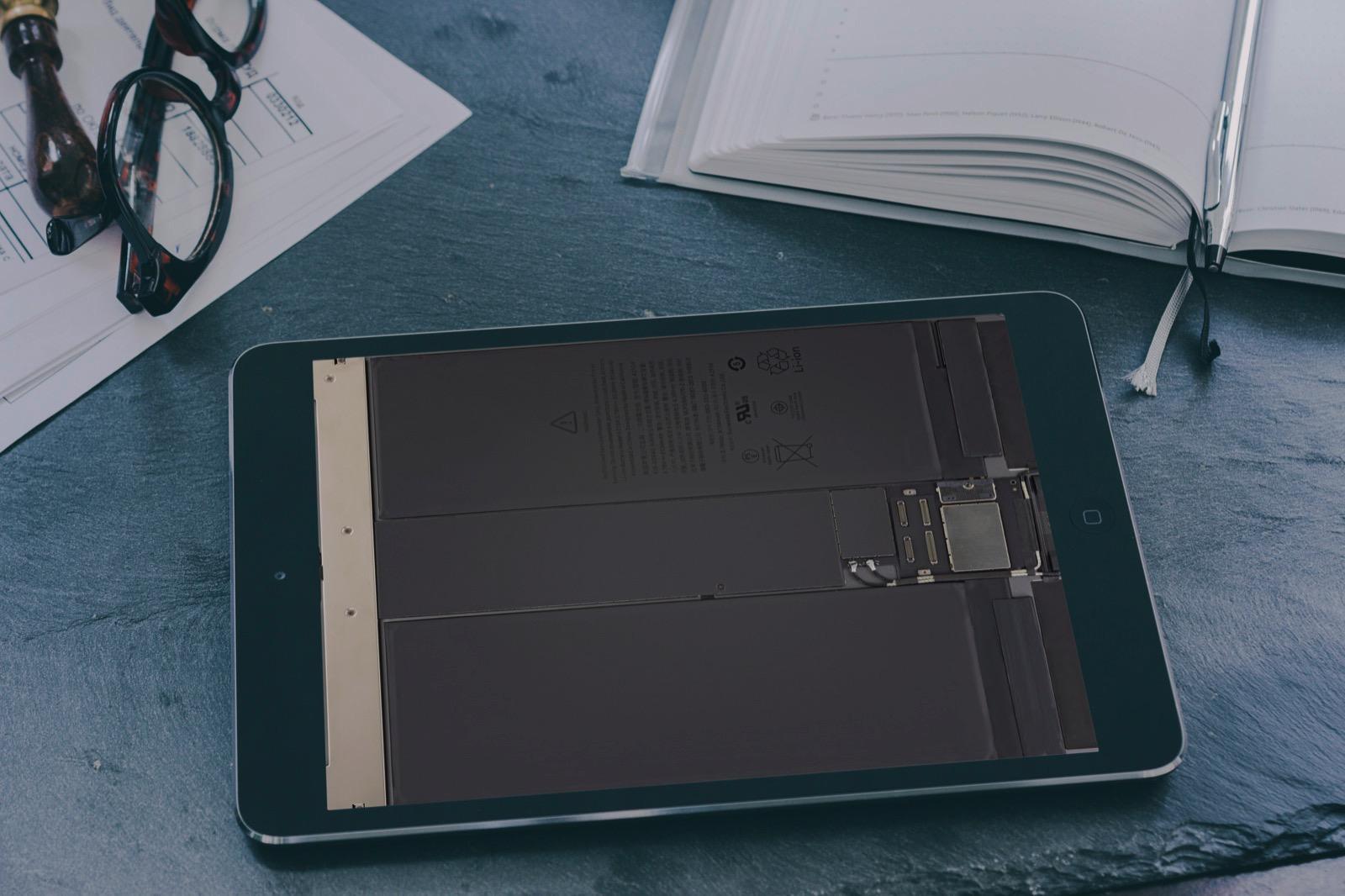 Ipad Air 3 の内部が透けて見える シースルー壁紙が公開 ゴリミー
