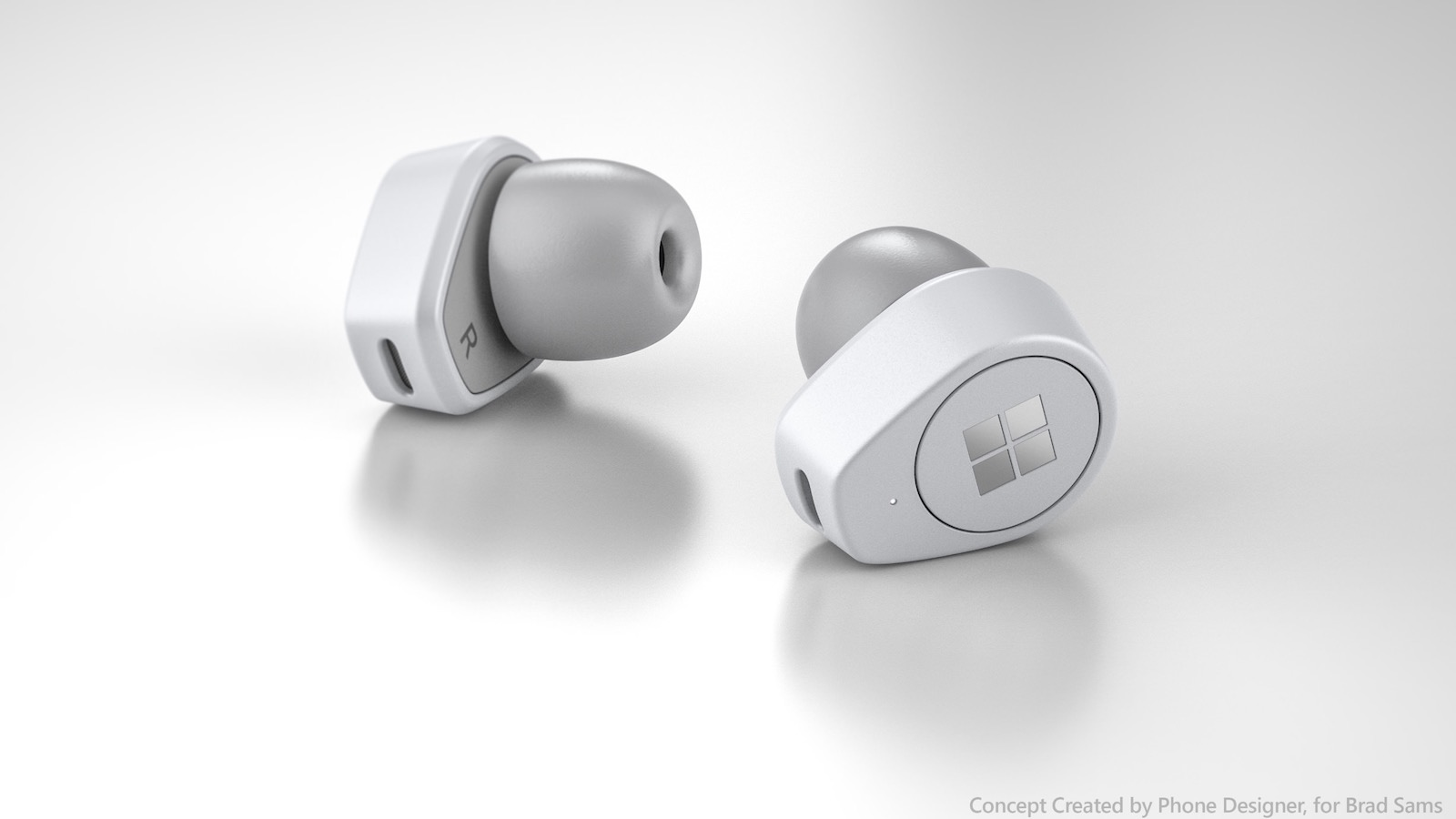 Surface Earbuds Concept
