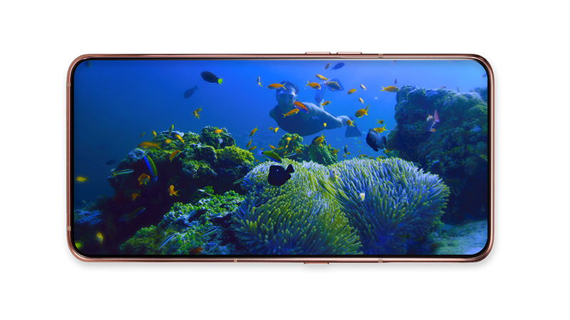 Galaxy A80 Display