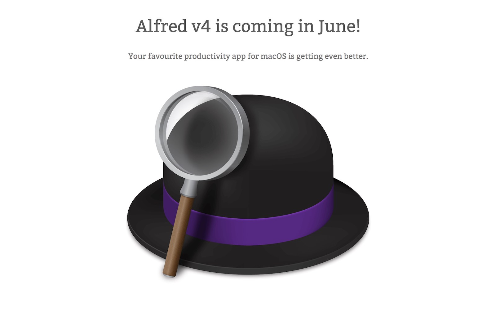 Alfred 4 coming in june