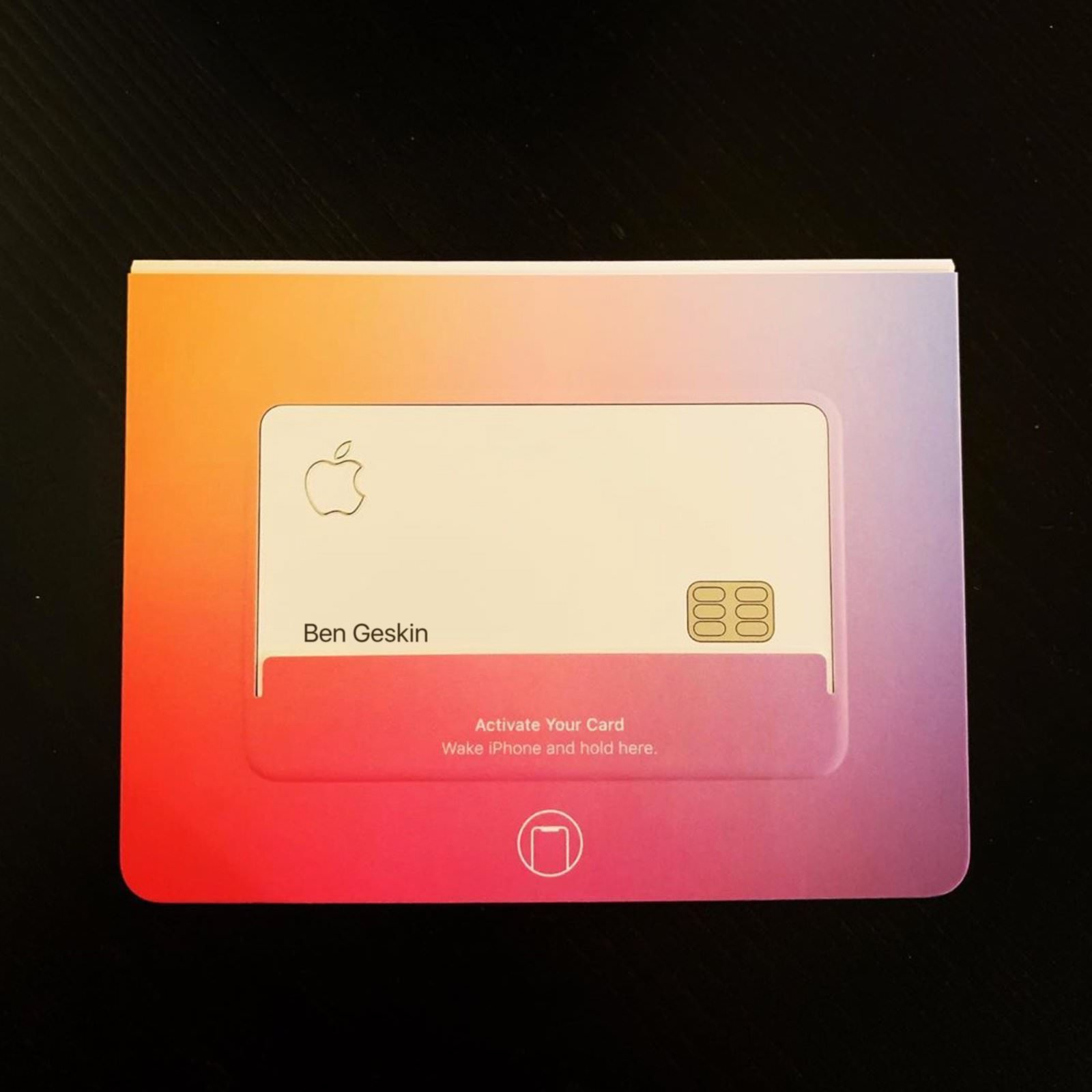Apple Card IN Real life