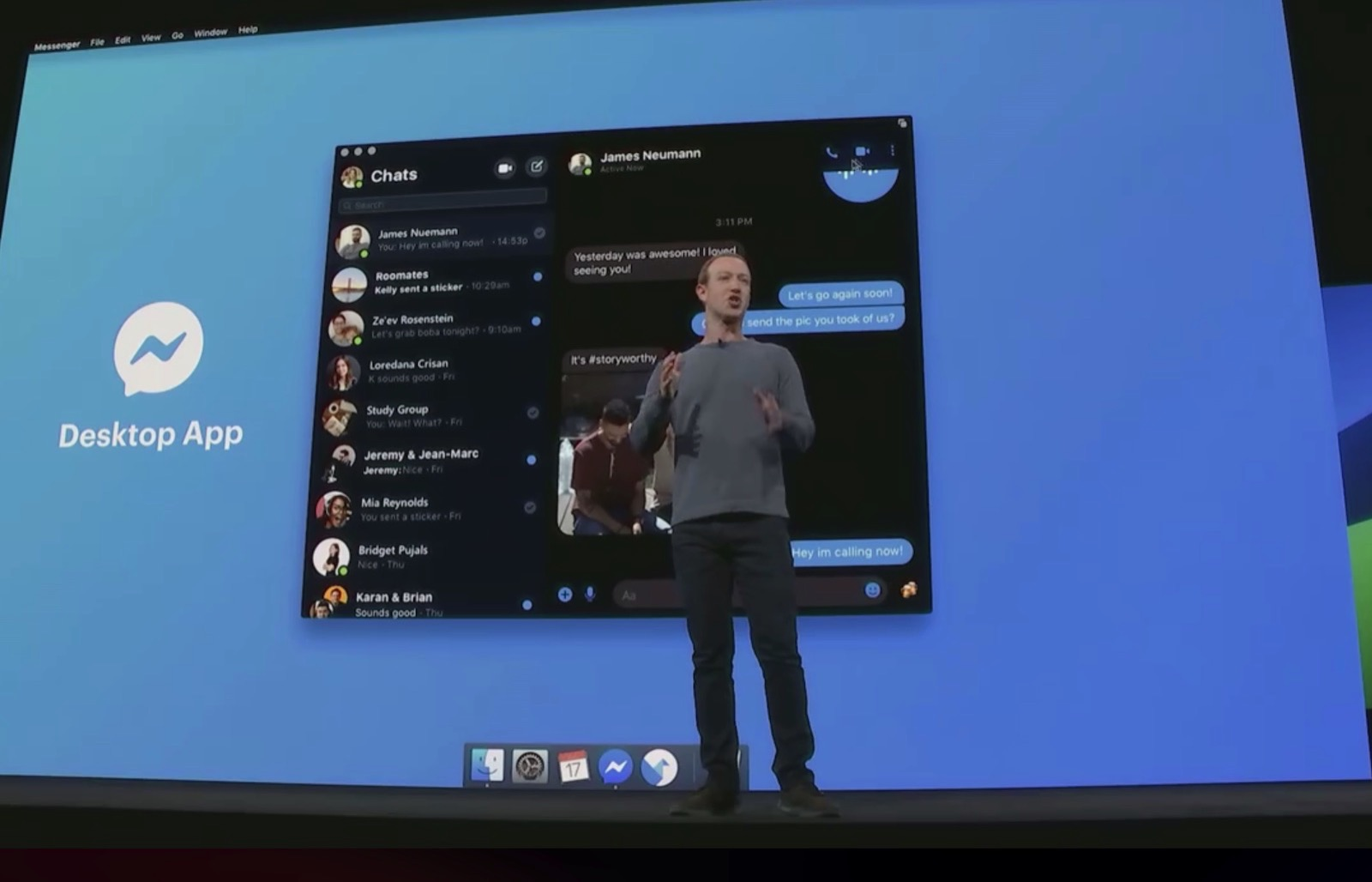 Facebook Messenger for Mac and PC 1