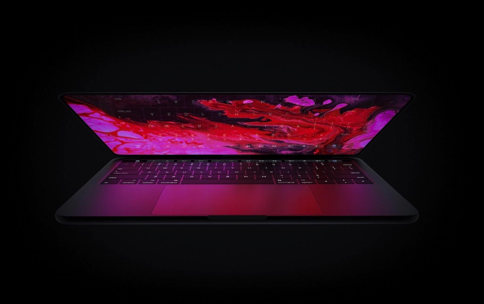 MacBook Pro 2020 concept image