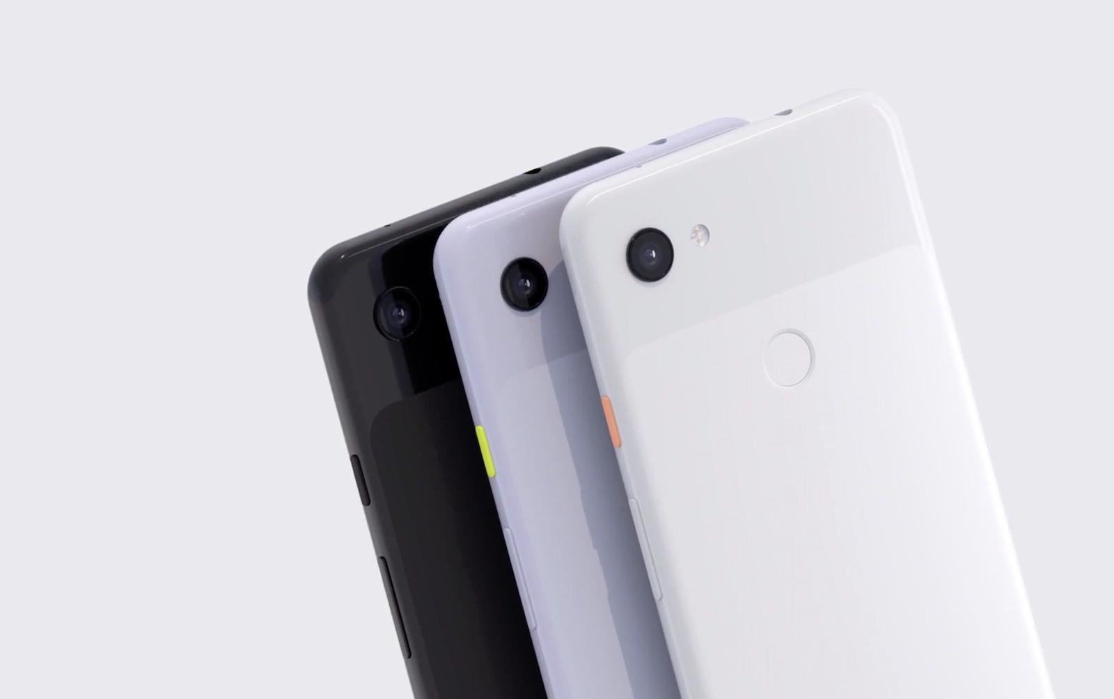 Pixel 3a colors