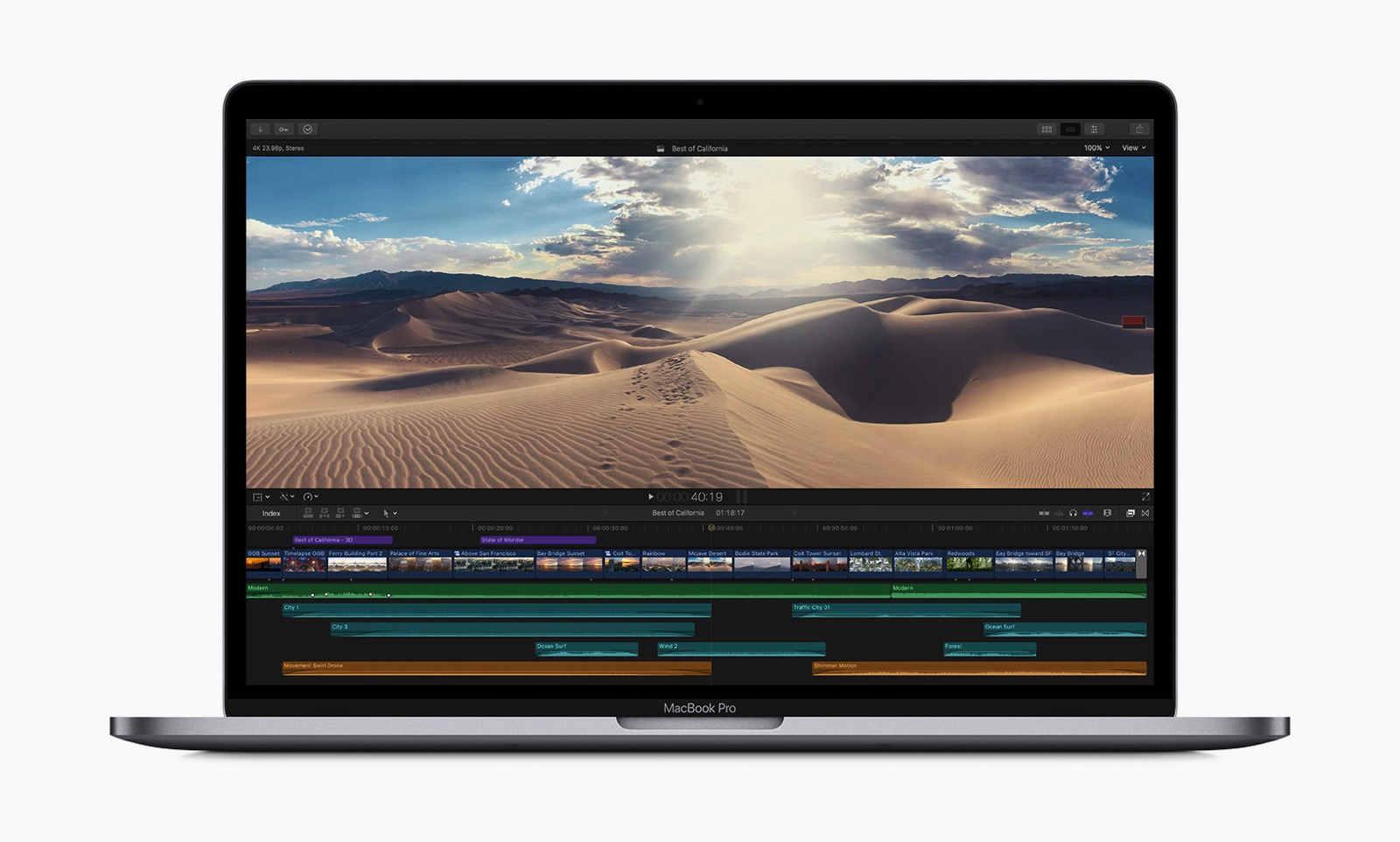 Apple macbookpro 8 core video editing 05212019
