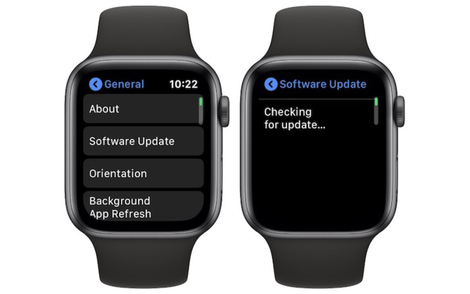 Apple Watch watchOS6 OTA updates