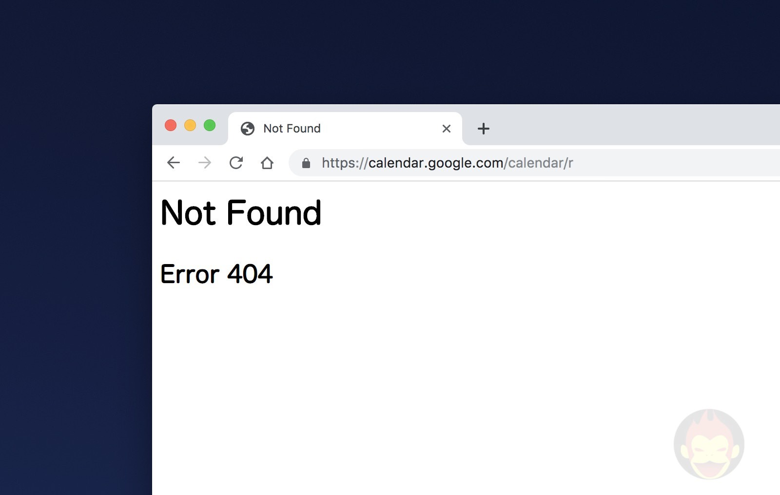 Google Calendar is down 01