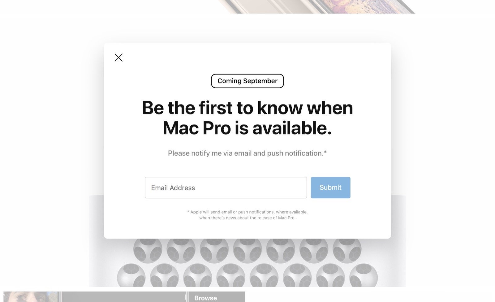 Mac Pro Coming in September maybe 2