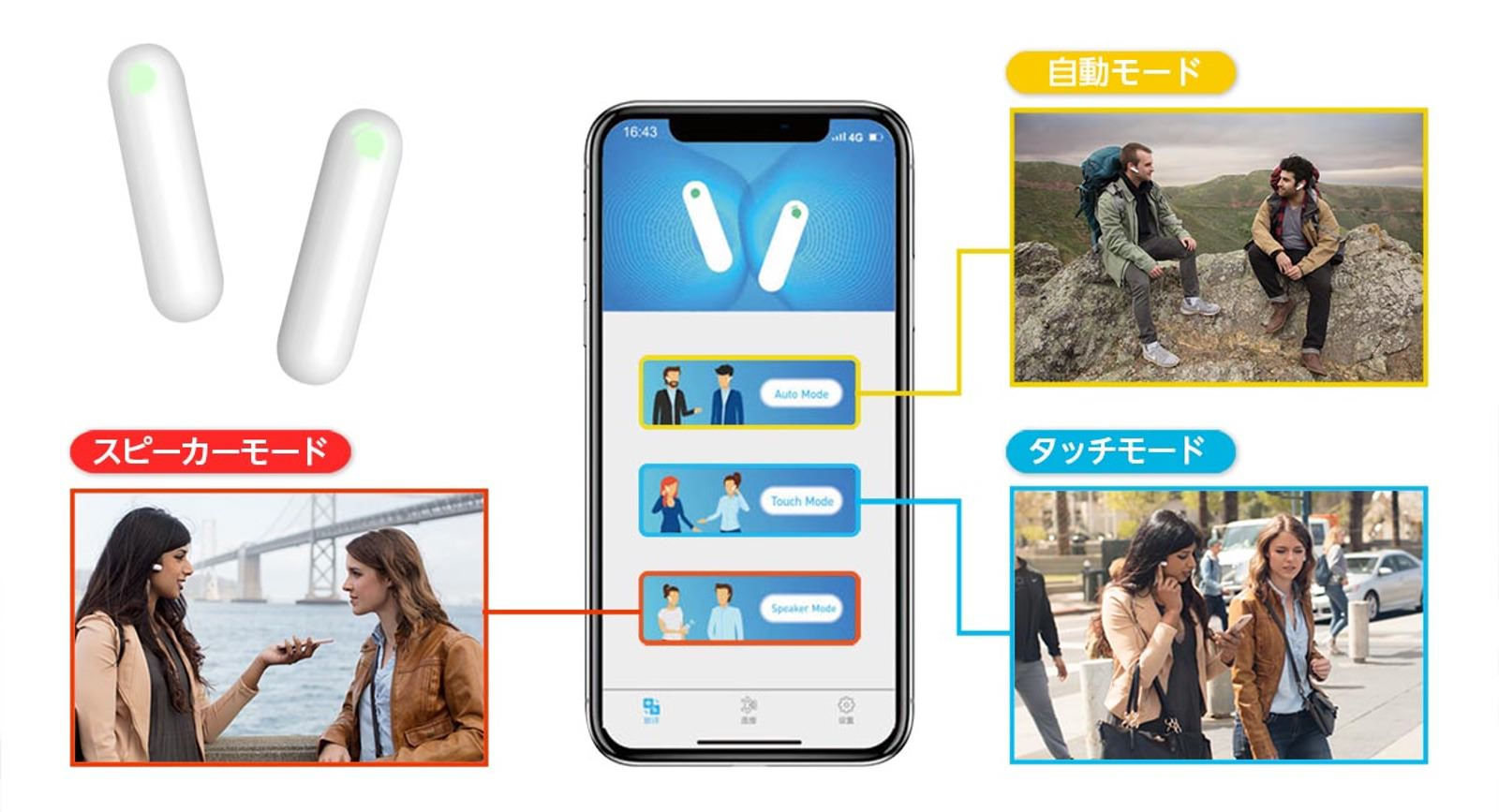 Realtime Translating Gadget WT2 Plus 06