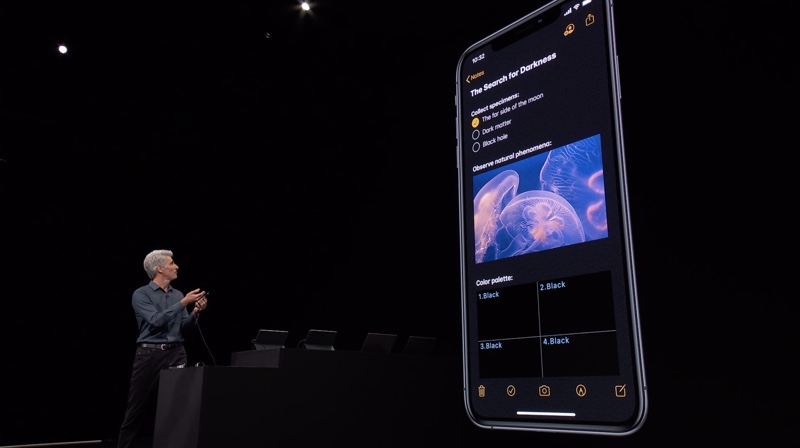 WWDC 2019 On Stage 1006