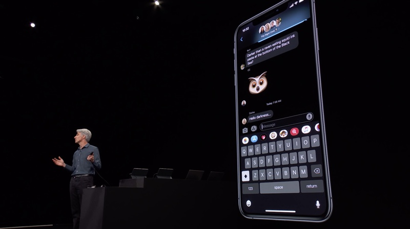 WWDC 2019 On Stage 1013