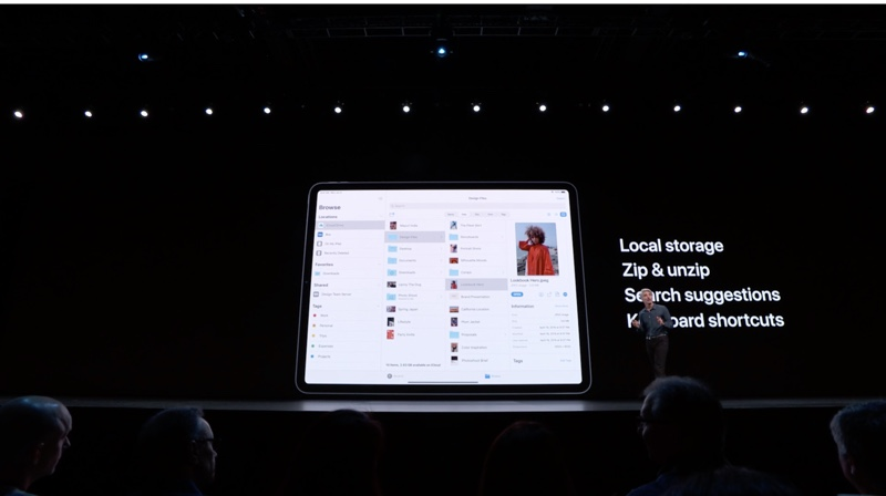 WWDC 2019 On Stage 2090