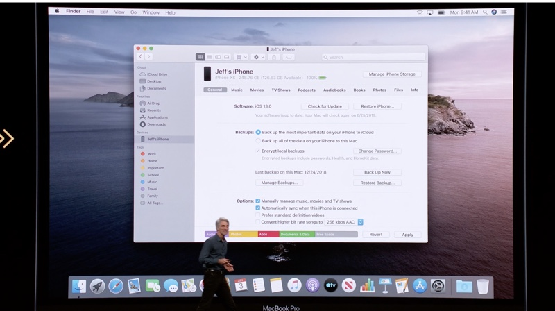 WWDC 2019 On Stage 3178