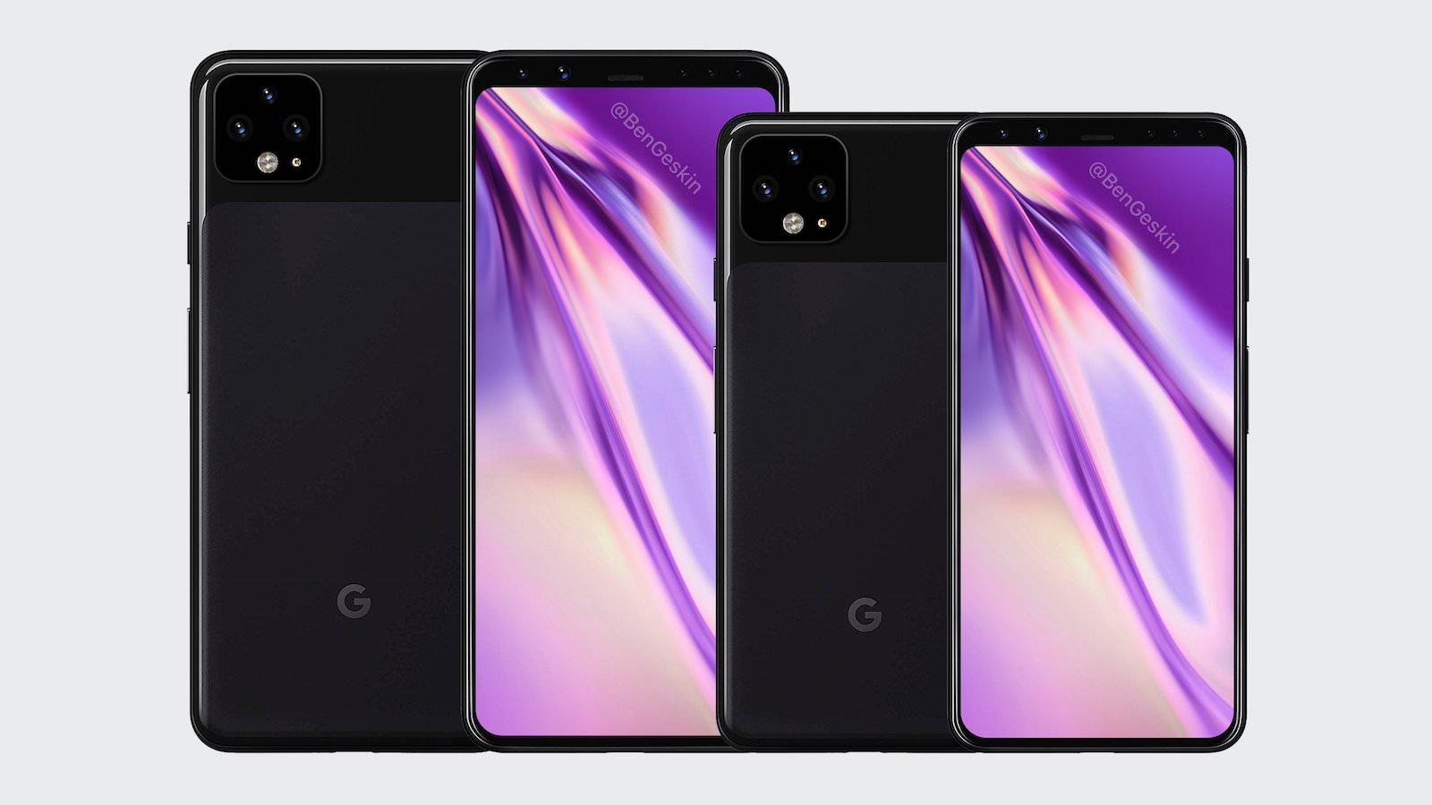 Google pixel4 mocks