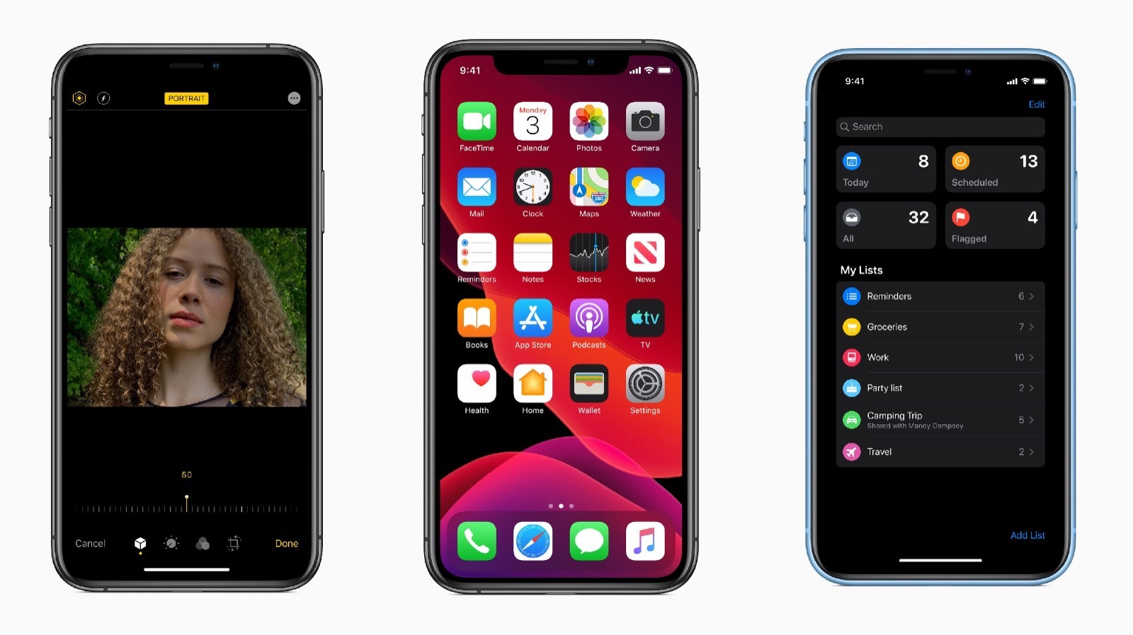 Top iOS13 features