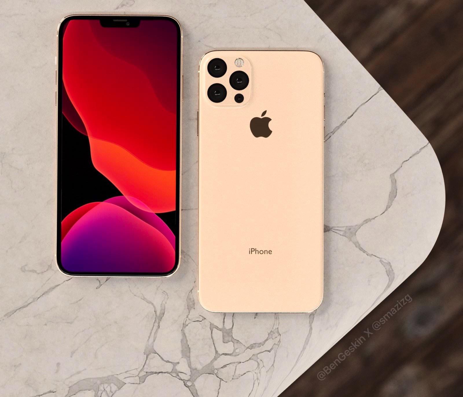 2020 iphone renderings