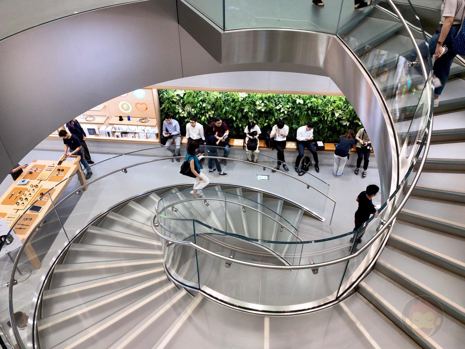 Apple Store Omotesando Basement floor renewal 08