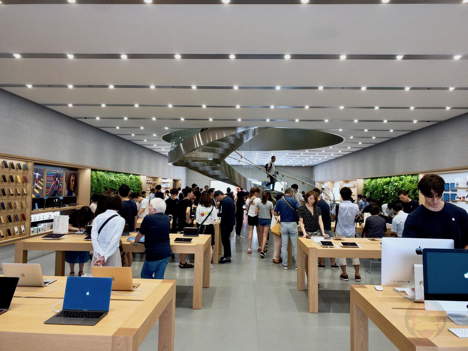 Apple Store Omotesando Basement floor renewal 16