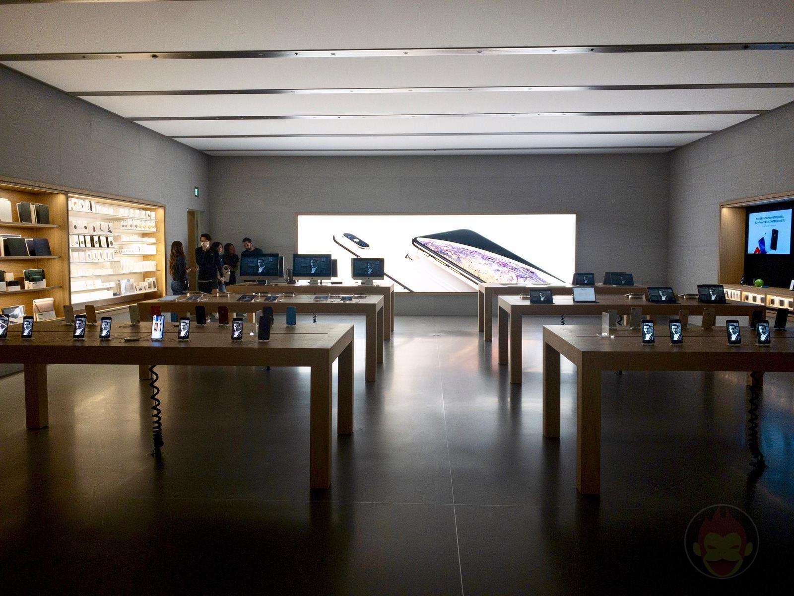 Apple Store Omotesando Basement floor renewal 48