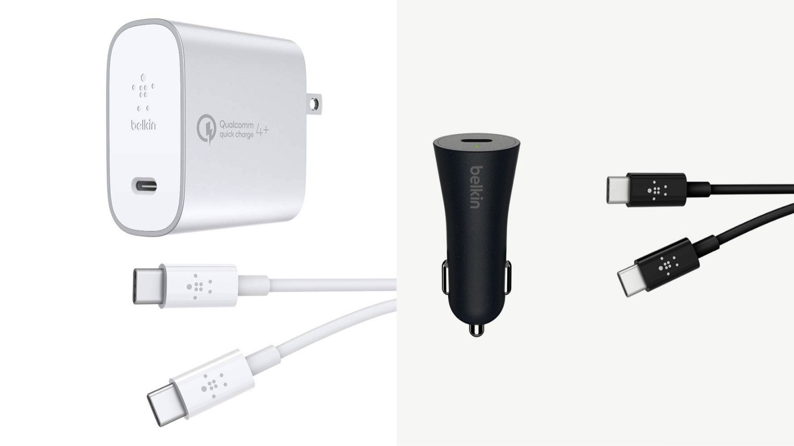 Belkin Quickcharge4 compatible products