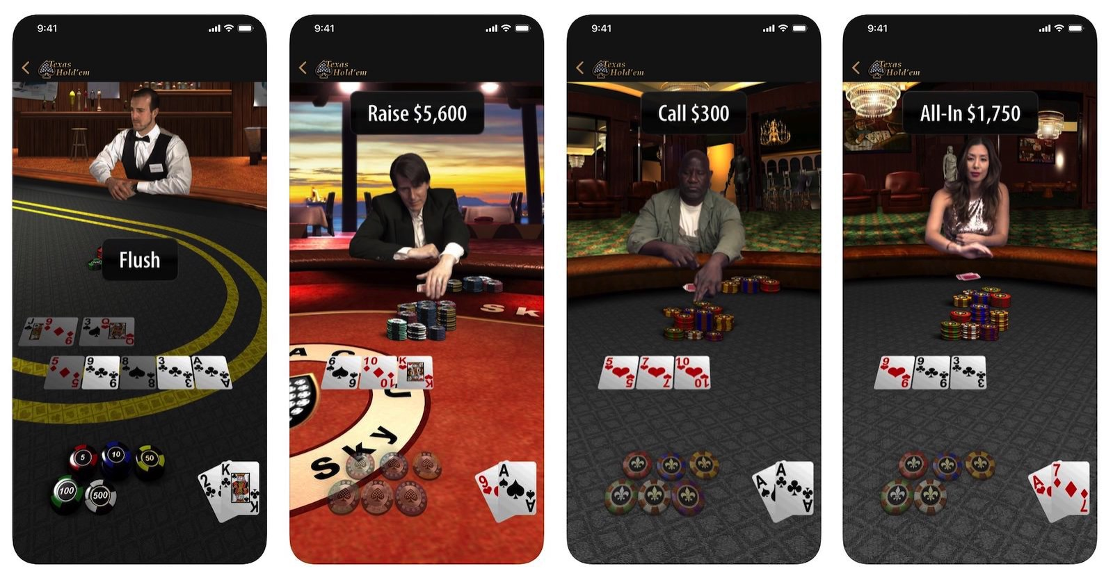 Texas Holdem Apple poker game