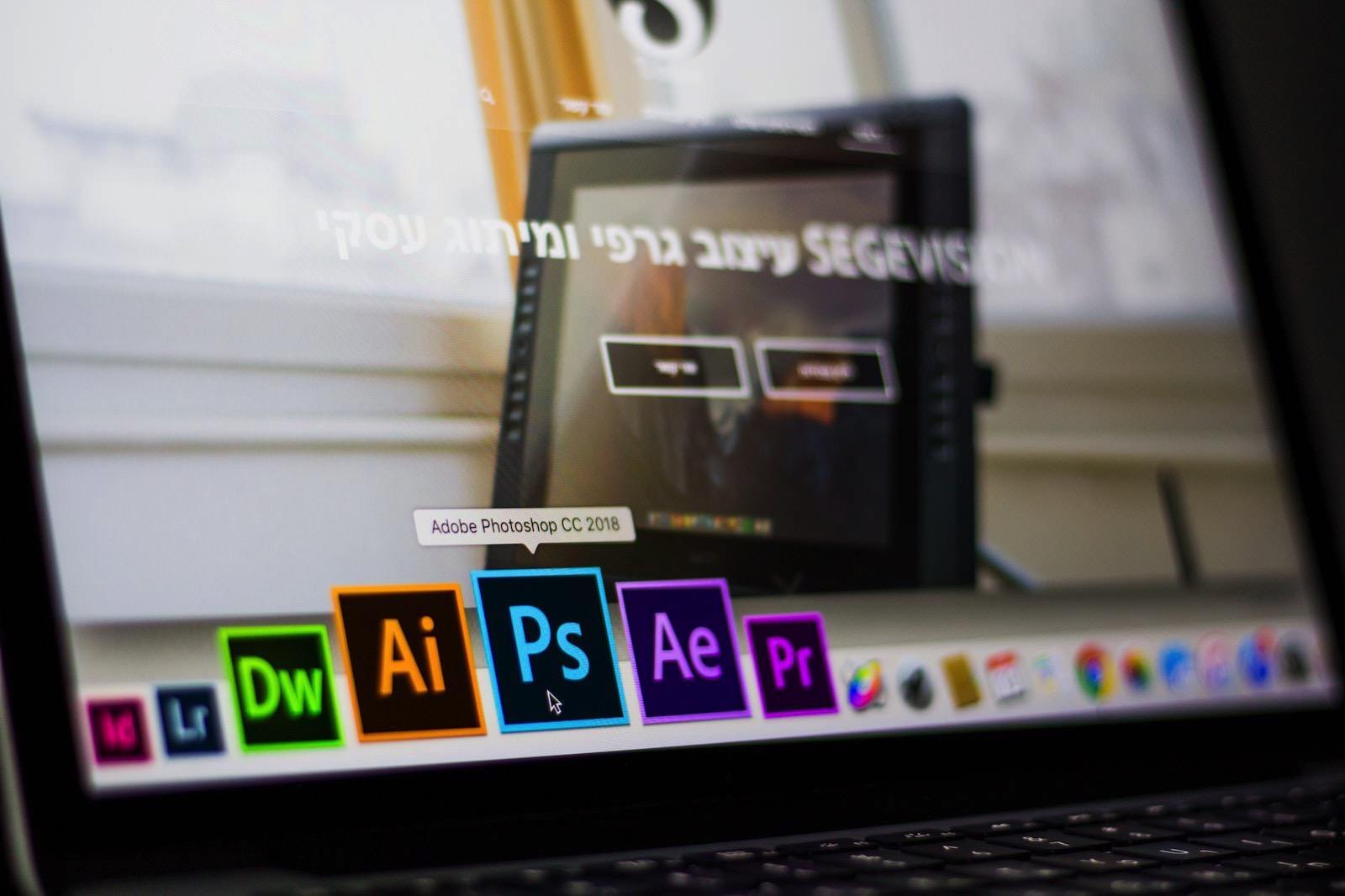 Adobe photoshop data desk 693892