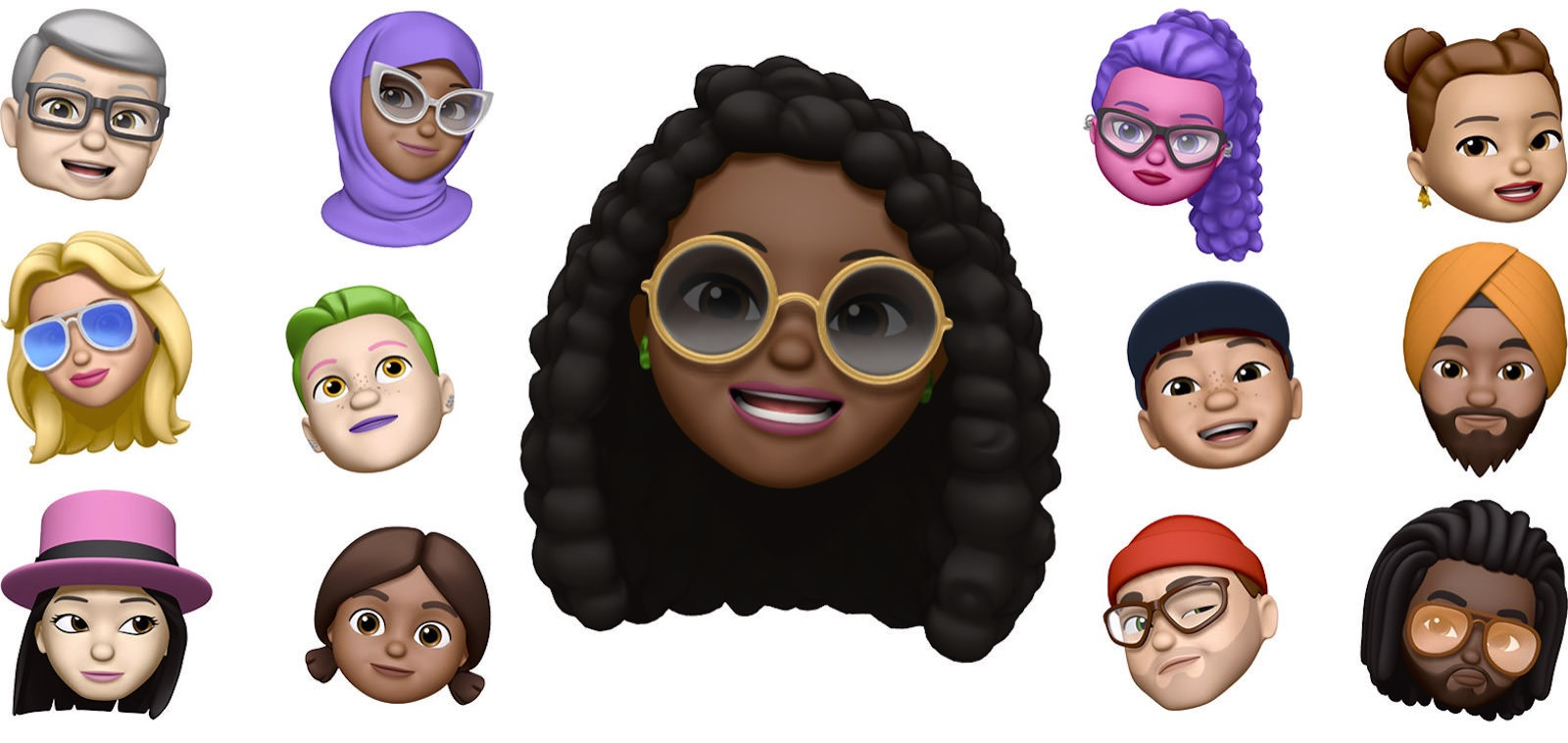 Ios12 iphone x messages memoji hero