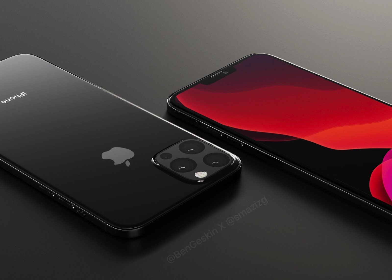Iphone 2020 concept black