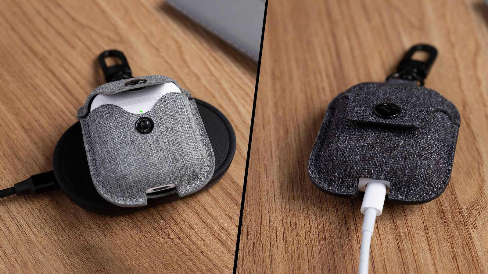 AirSnap twill hardcase for AirPods 2