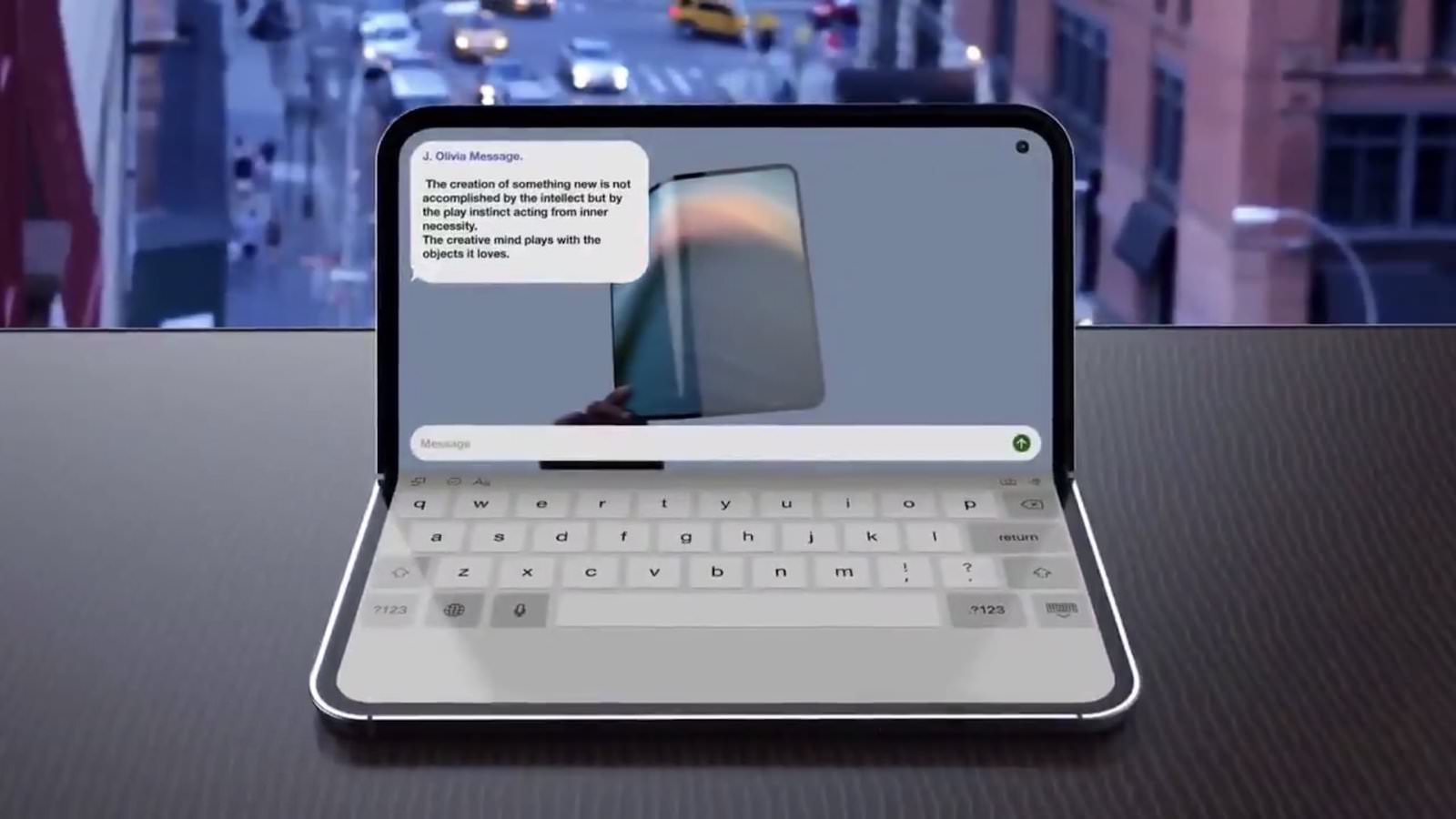 Foldable iPad Concept Image