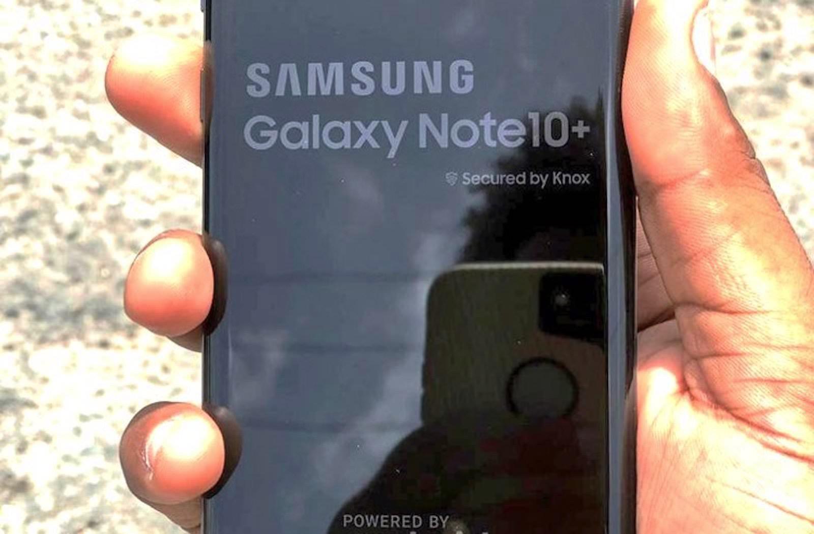 GalaxyNote10 leaks iPhonexr 2019