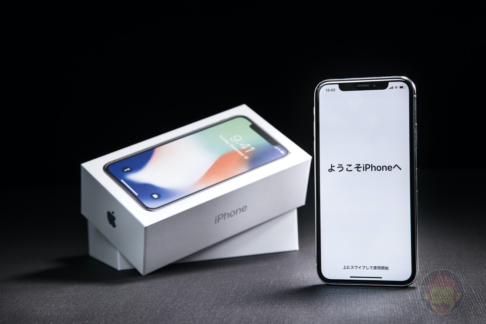 Welcome iPhone X with Box 01
