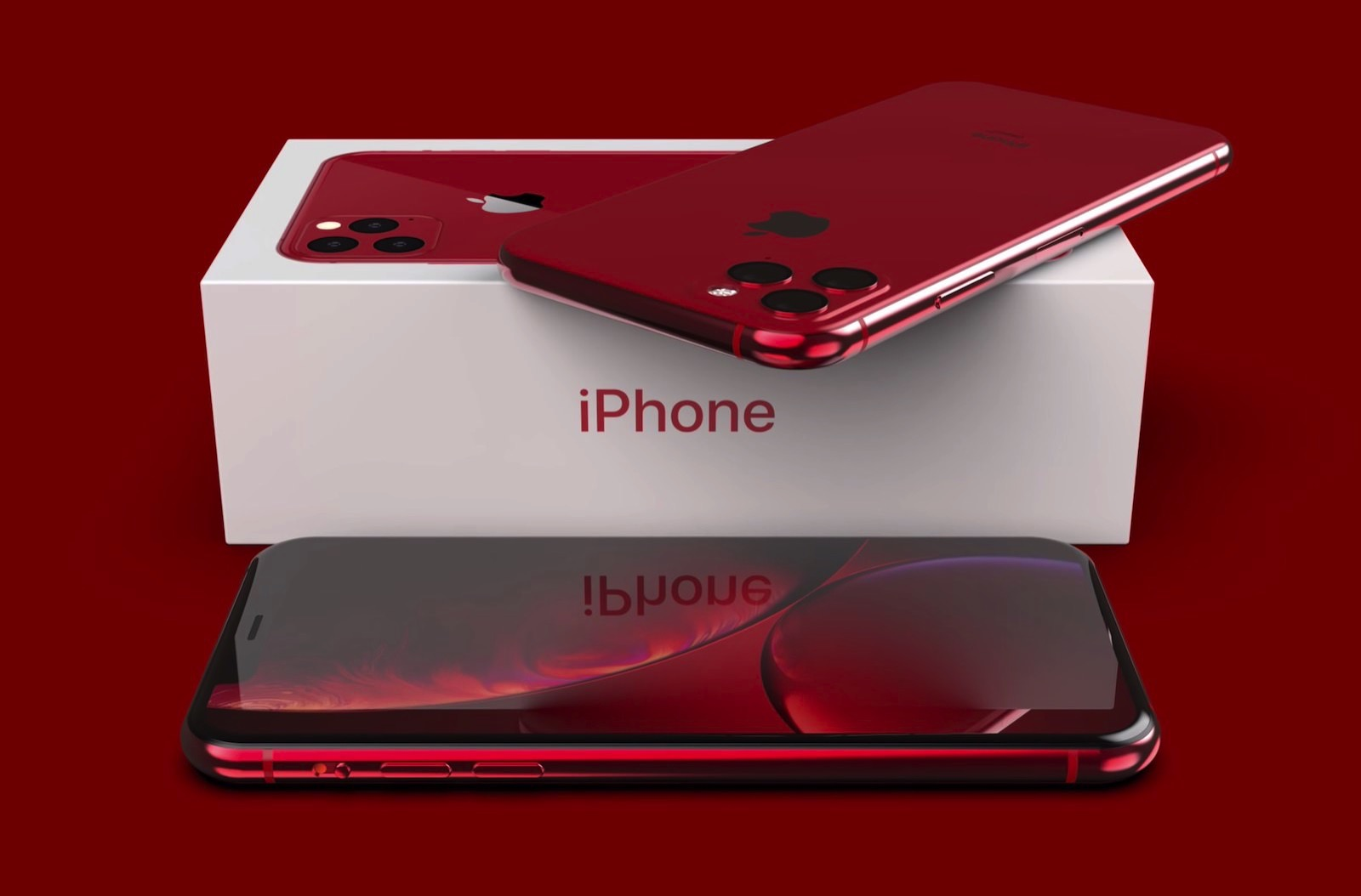 Iphone pro 2019 concept image