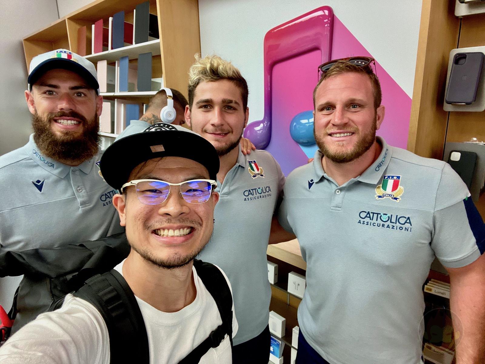 Apple Fukuoka tenjin Last Day Rugby Italia 06