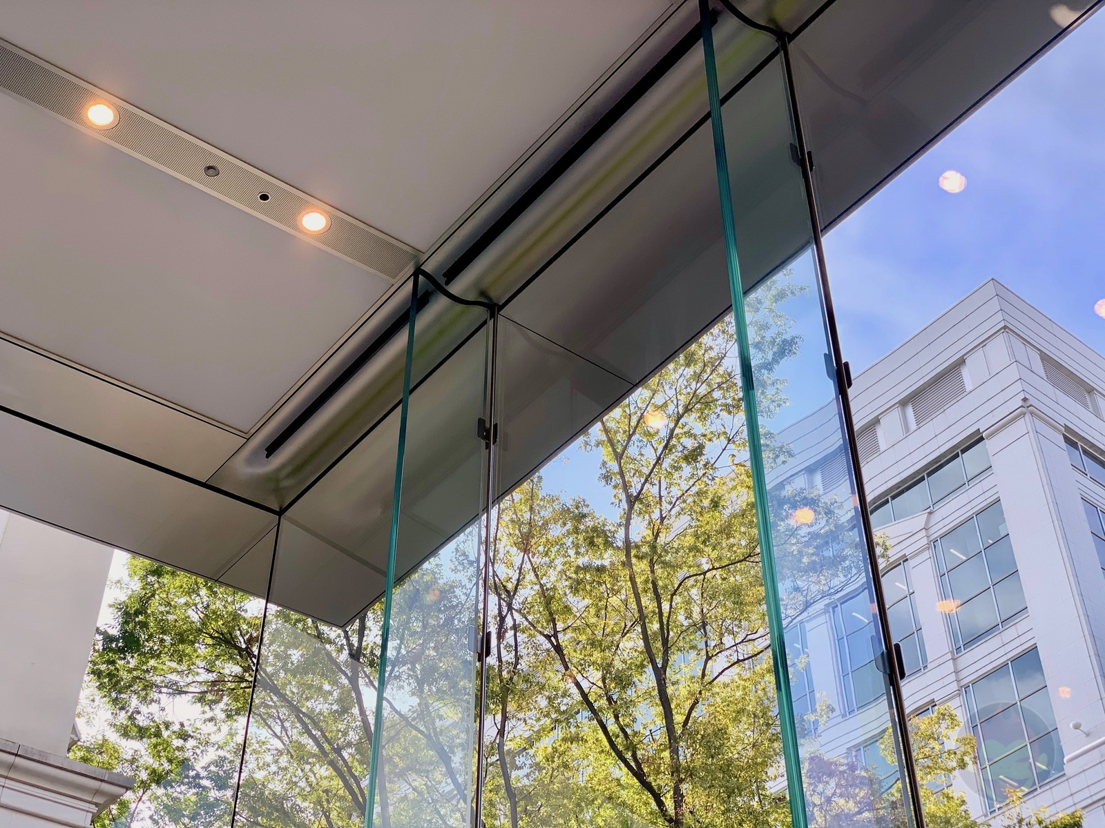 Apple Omotesando Video Wall Renewall 19