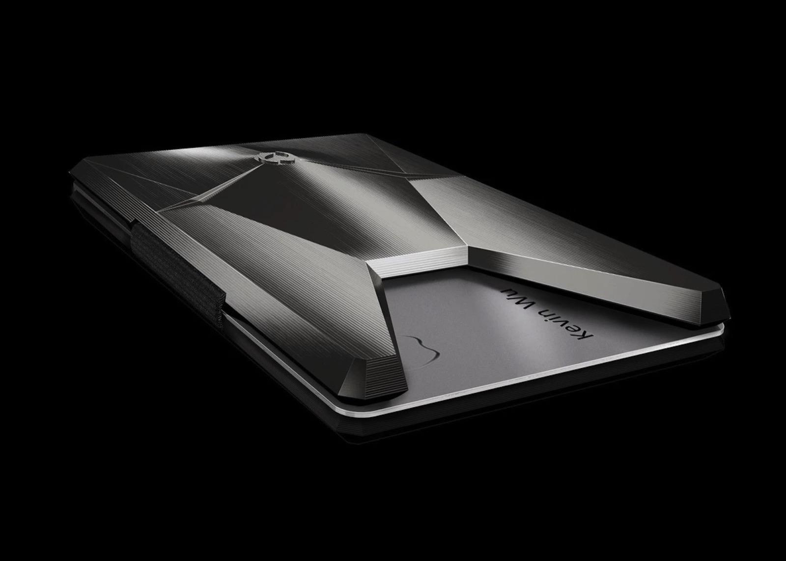 Vandium Titanium Wallet