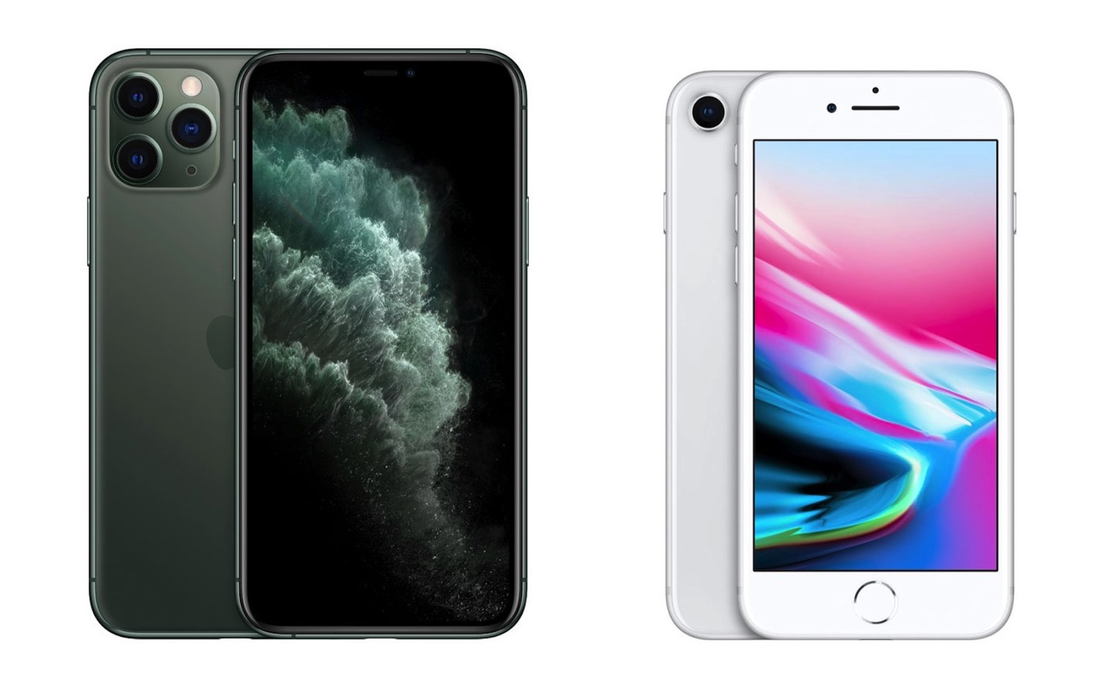 Iphone 11pro vs iphone8