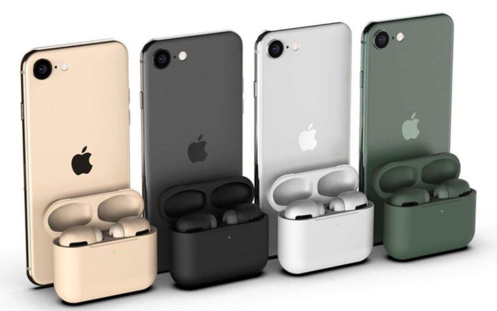 AirPods Pro Colors in 11Pro