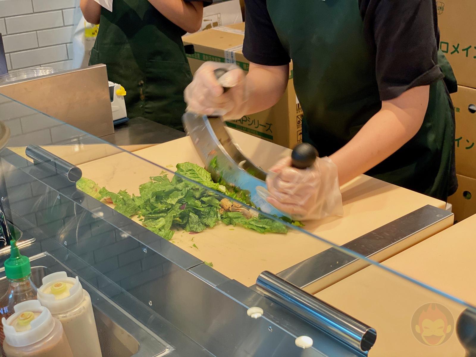 Crisp Salad Works Shibuya Scramble 02