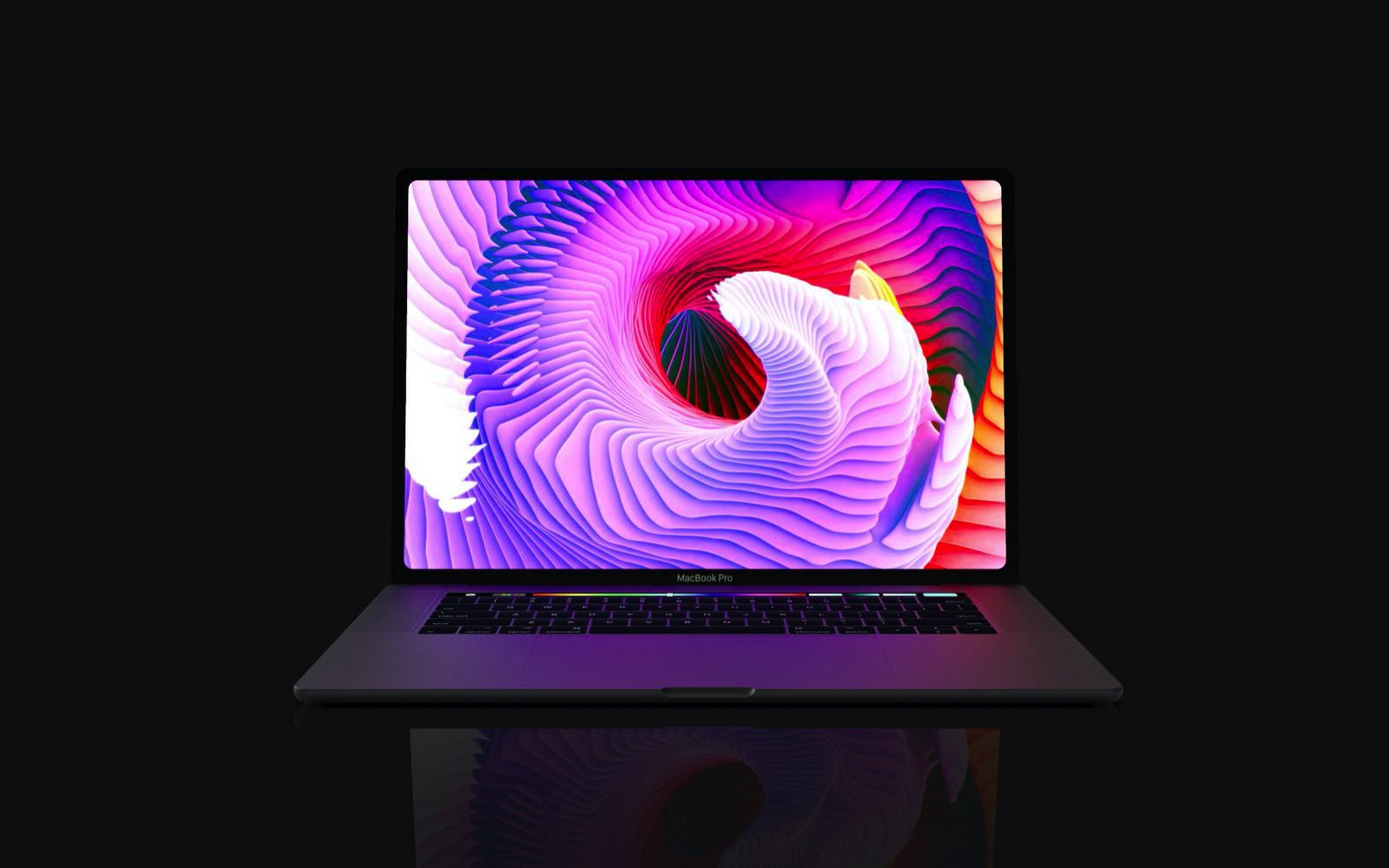 MacBook Pro 16inch model concept image 01
