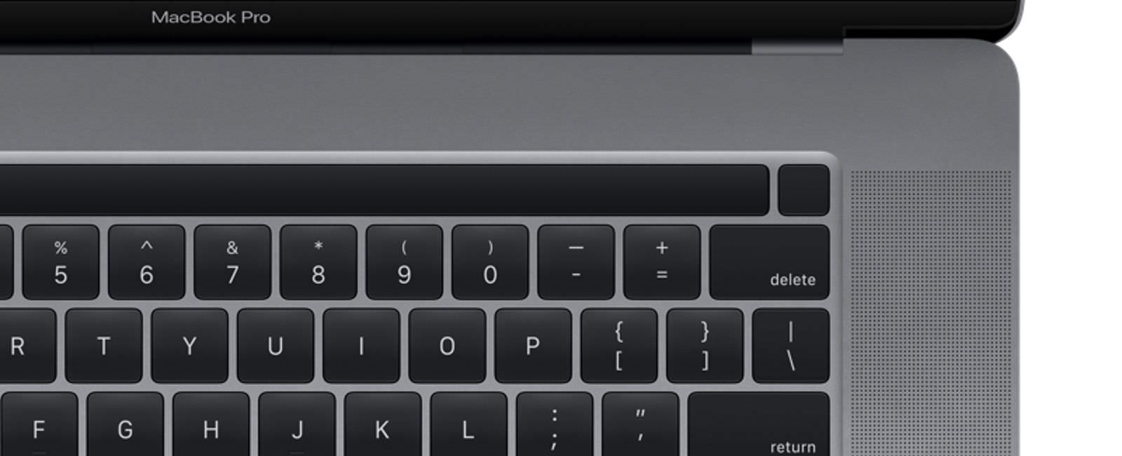 MacBook Pro 16inch touchbar and touchid 01