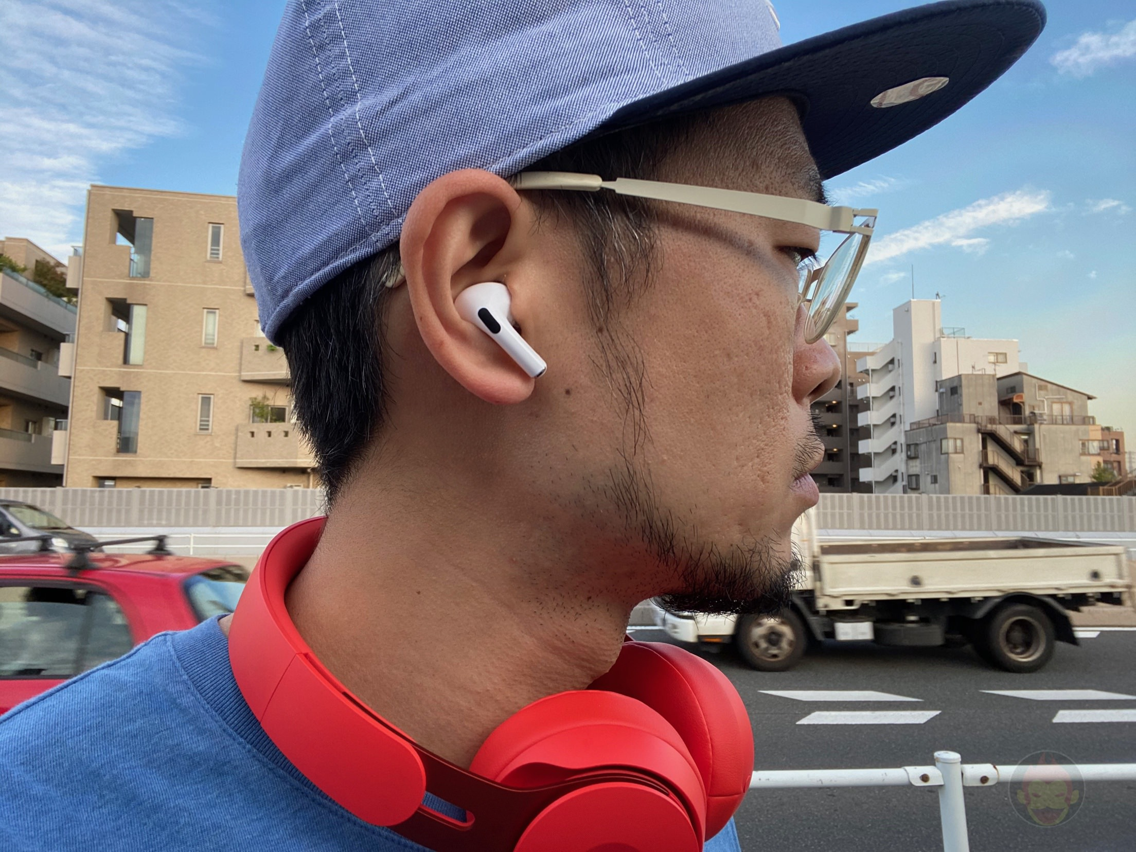 Using AirPods Pro outside 12