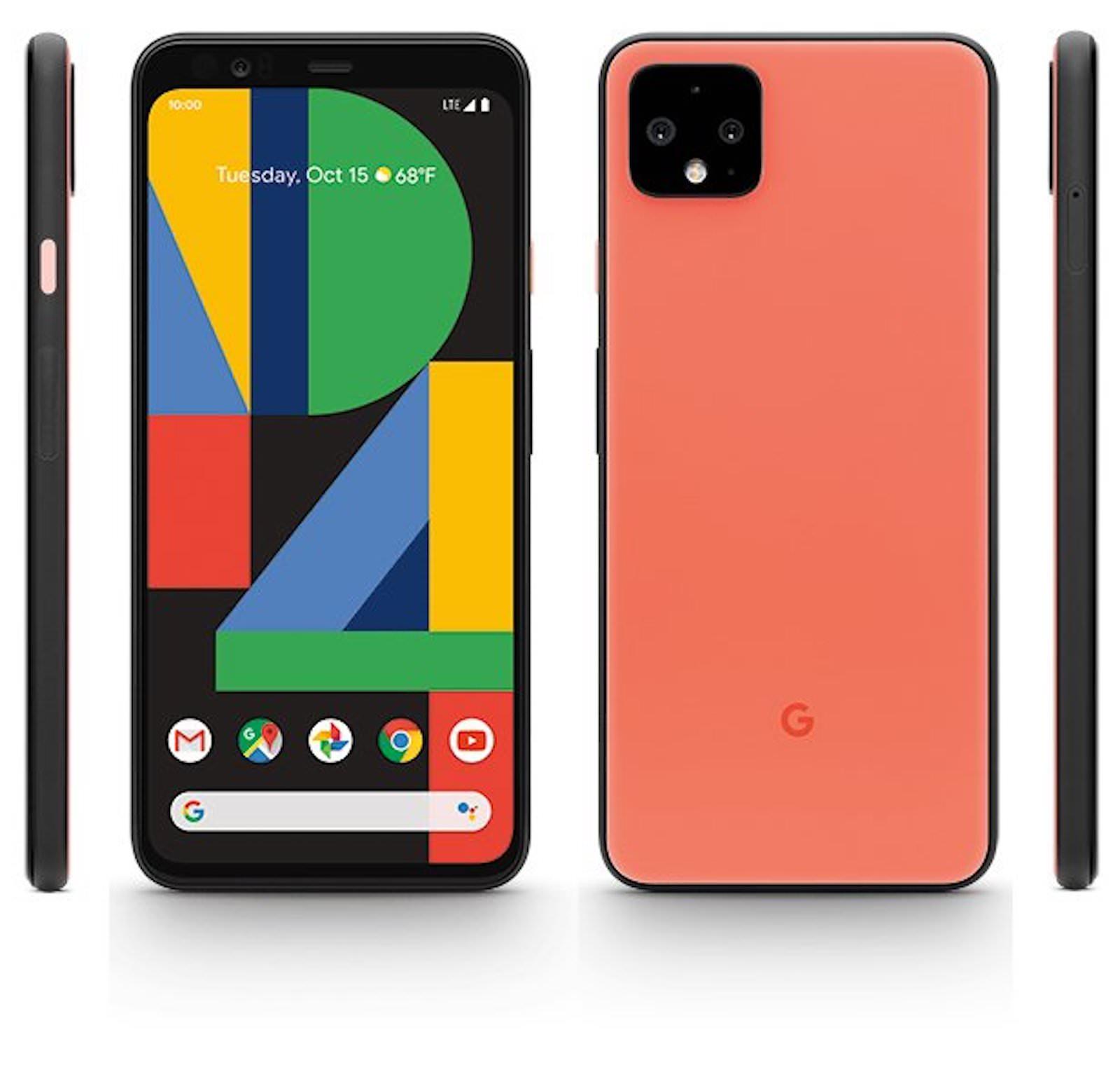 Google pixel 4 orange color