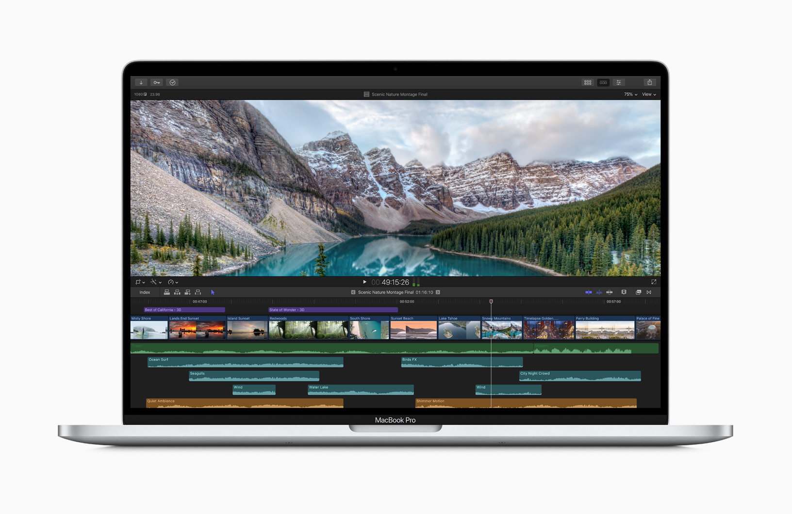Apple 16 inch MacBook Pro Powerful Processors Faster Memory Video 111319