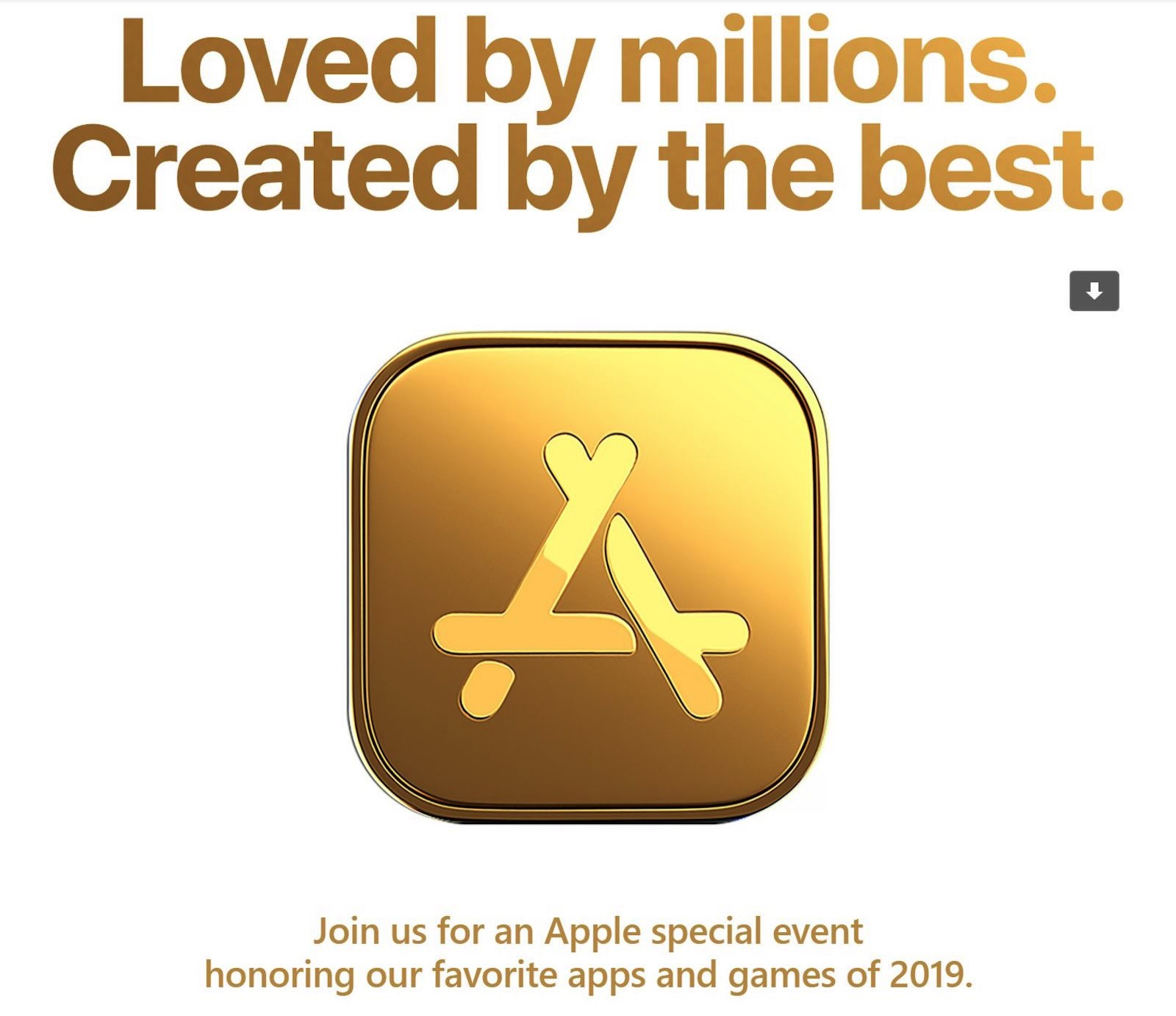 December Apple Event